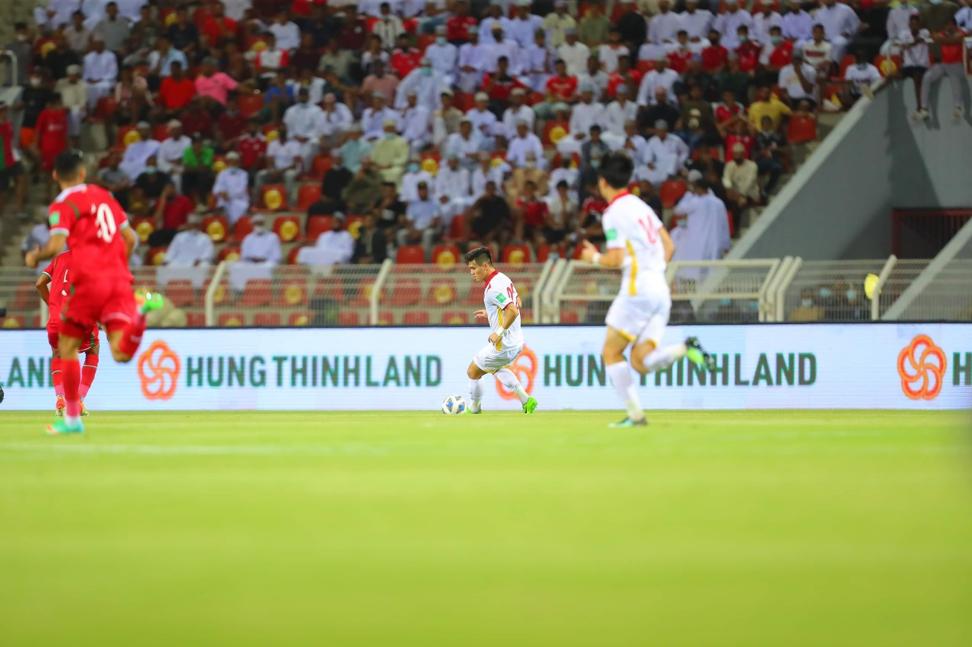 Hưng Thịnh Land là đối tác tài trợ toàn cầu của vòng loại AFC Châu Á – Đường đến QatarTM. Ảnh: AFC