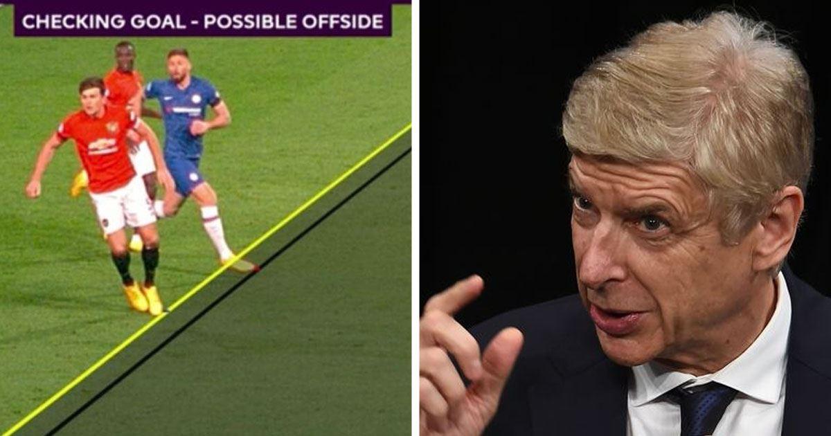 Wenger và FIFA muốn đẩy nhanh việc áp dụng công nghệ khi xác minh các tình huống việt vị trong bóng đá.