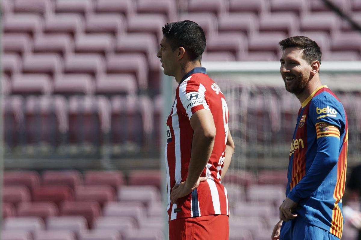 Messi và Suarez là đôi bạn thân trên sân cỏ cũng như ngoài đời. Ảnh: Imago.
