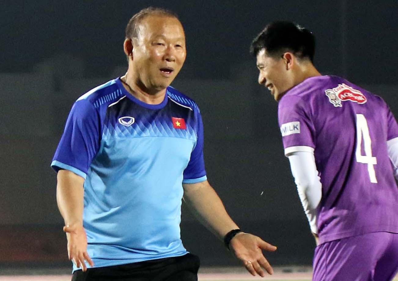 HLV Park Hang-seo sẽ có lịch trình bận rộn khi phải làm việc liên tục ở hai đội tuyển U23 và ĐTQG. Ảnh: VFF