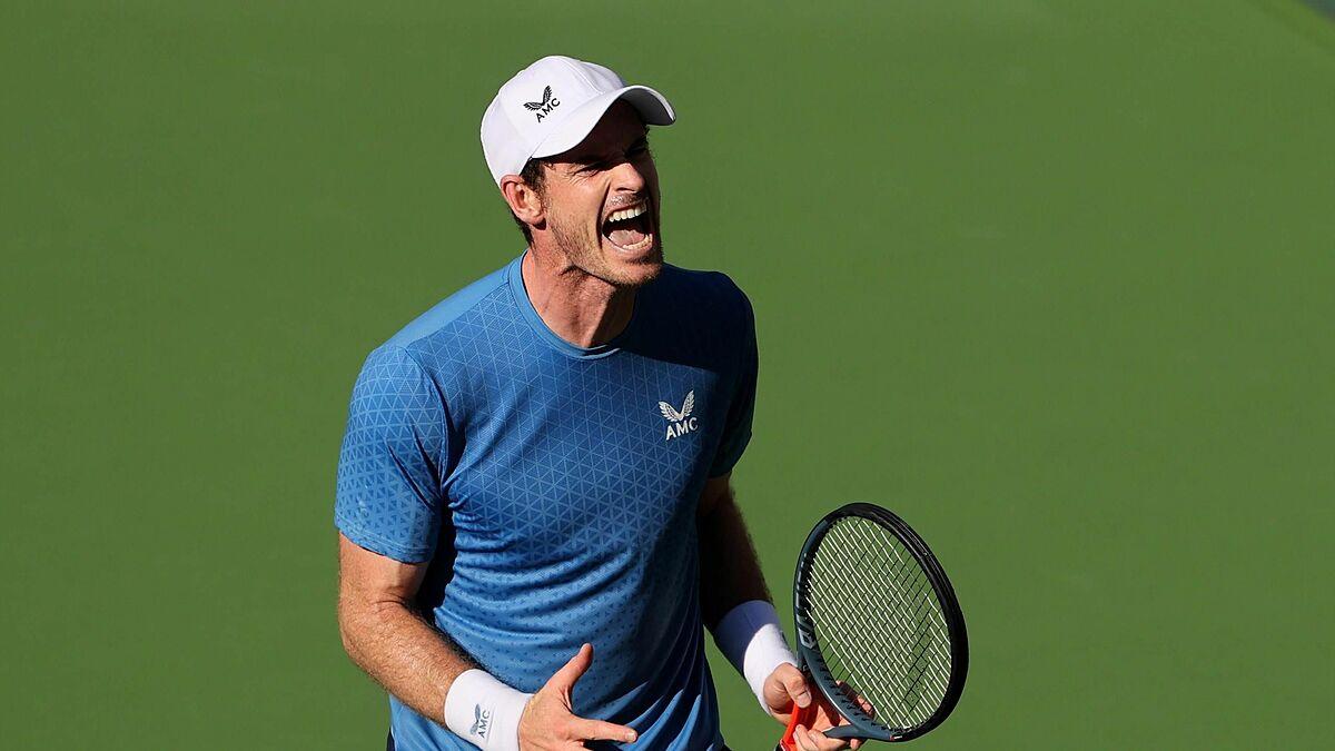 Murray mất bình tĩnh trong nhiều trận đấu ở mùa giải năm nay. Ảnh: Tennis365