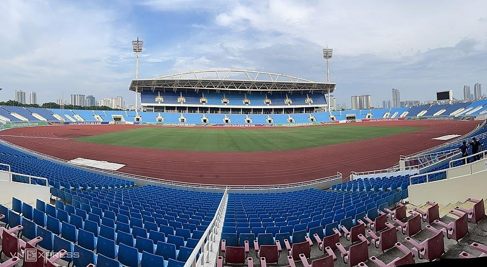 Mỹ Đình đã được sửa chữa và tiếp tục được chọn là sân nhà của tuyển Việt Nam trong các trận đấu tiếp theo.