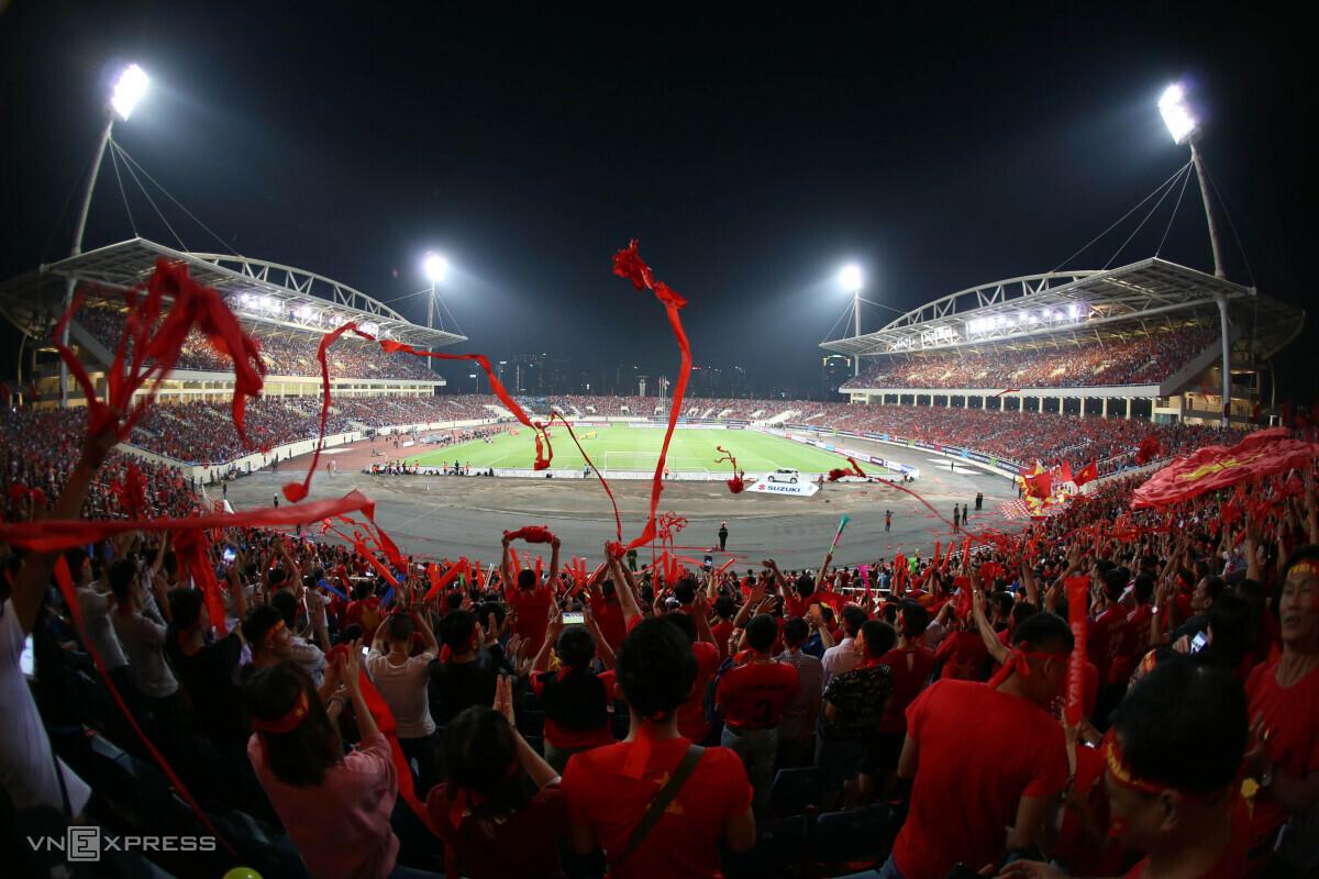 VFF hy vọng khán giả sẽ là cầu thủ thứ 12 giúp đội tuyển Việt Nam thi đấu tốt hơn. Ảnh: Đức Đồng